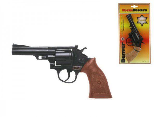 Pistole - Kapslovka Denver 22cm 12 ran na kartě