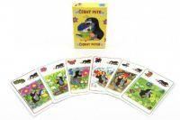 Černý Petr Krtek a sýkorka společenská hra - karty v papírové krabičce 6x9cm