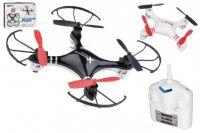 Dron RC bez kamery 15cm USB pro dobíjení plast na baterie asst 2 barvy v krabici