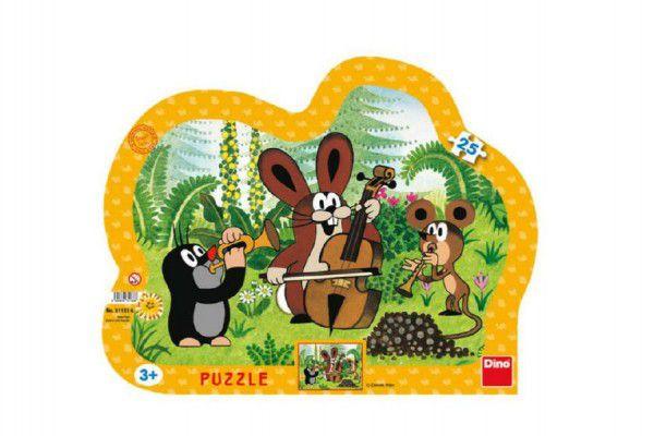 Puzzle Krtko muzikanti