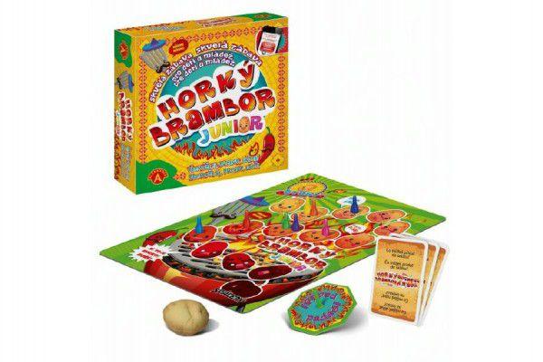 Horký brambor Junior společenská hra v krabici 24x25x6cm