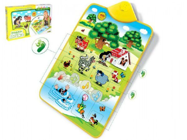 Elektronická hracia podložka Krtko a zvieratká