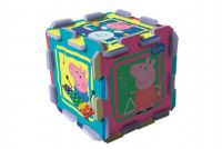 Pěnové puzzle Peppa Pig 32x32x1cm v sáčku