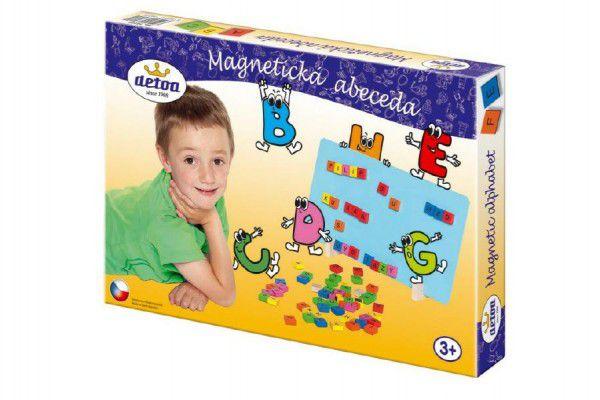 Magnetická abeceda 75ks