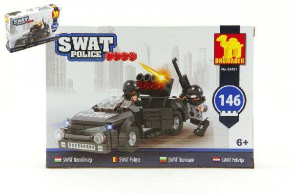 Dromader 23421 SWAT Policie Auto