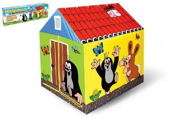 Domček/stan detský Krtko 95x72x102cm polyester v krabici