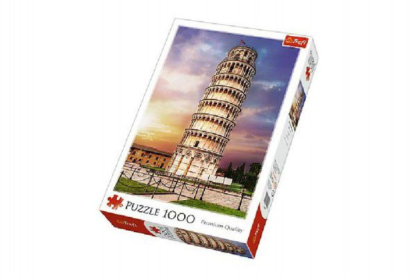 Puzzle Šikmá věž v Pise 1000 dílků 68,3x48cm v krabici 27x40x6cm