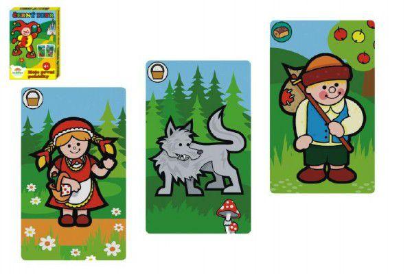 Černý Petr Moje první pohádky společenská hra - karty v papírové krabičce 6x9cm