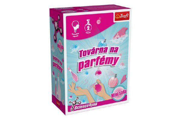 Továrna na parfémy mini sada 2 pokusy Science 4 you v krabičce 12x16x6cm