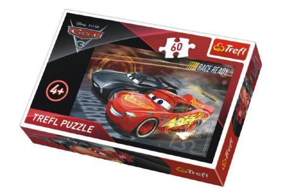 Puzzle Auta/Cars 3 Disney 33x22cm 60 dílků v krabičce 21x14x4cm