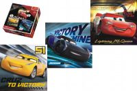 Puzzle 3v1 Auta/Cars 3 Disney 20,50,36 dílků v krabici 28x28x6cm