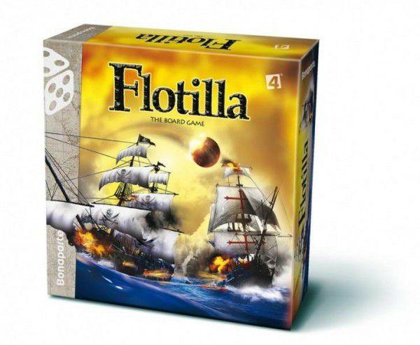 Flotilla společenská hra v krabici 30x30x9cm