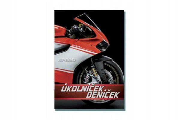 Úkolníček deníček Moto Speed A6