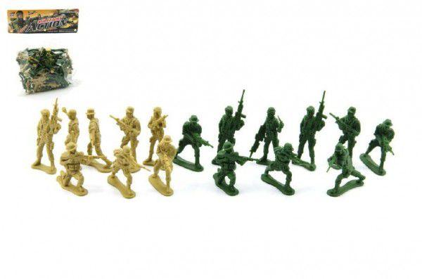 Sada vojáci plast v sáčku 18x20cm