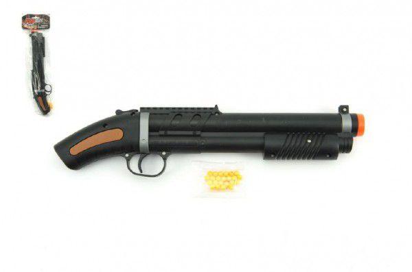 Pistole na kuličky 34cm + kuličky plast v sáčku