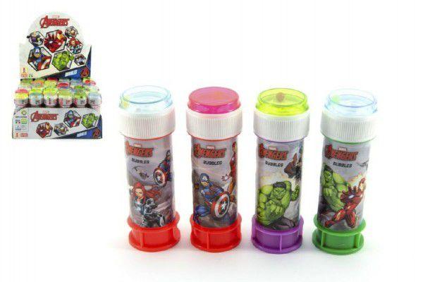 Bublifuk 60ml Avengers 60ml 11,5cm - 4 barvy