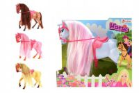 Kůň Sofie plast 26cm asst 4 barvy v krabici