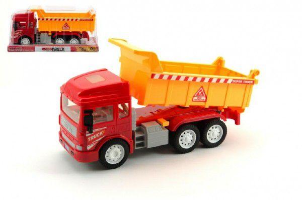 Auto nákladní plast 28cm na setrvačník v krabici