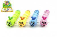 Červík na klíček plast lezoucí 14cm - 4 barvy