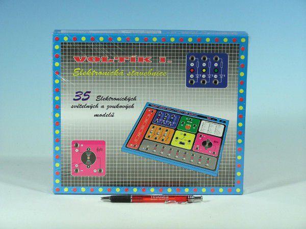 Voltík I. společenská hra na baterie v krabici 26,5x22,5x3,5cm