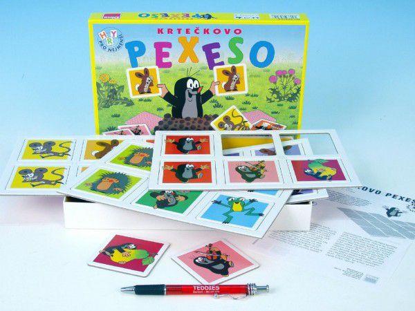 Velké krtečkovo pexeso Krtek společenská hra v krabici 27x19x3,5cm
