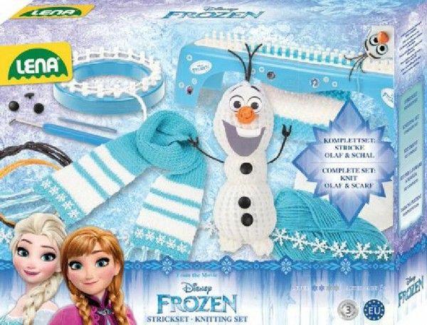 Štúdio pletenie: pletací stôl Frozen / Ľadové kráľovstvo 6+