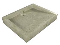 Umývadlo z prírodného kameňa Belua Cream