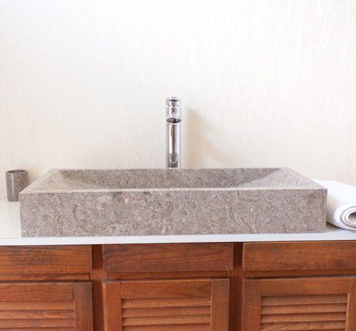 Umývadlo z prírodného kameňa IDS 005 Grey