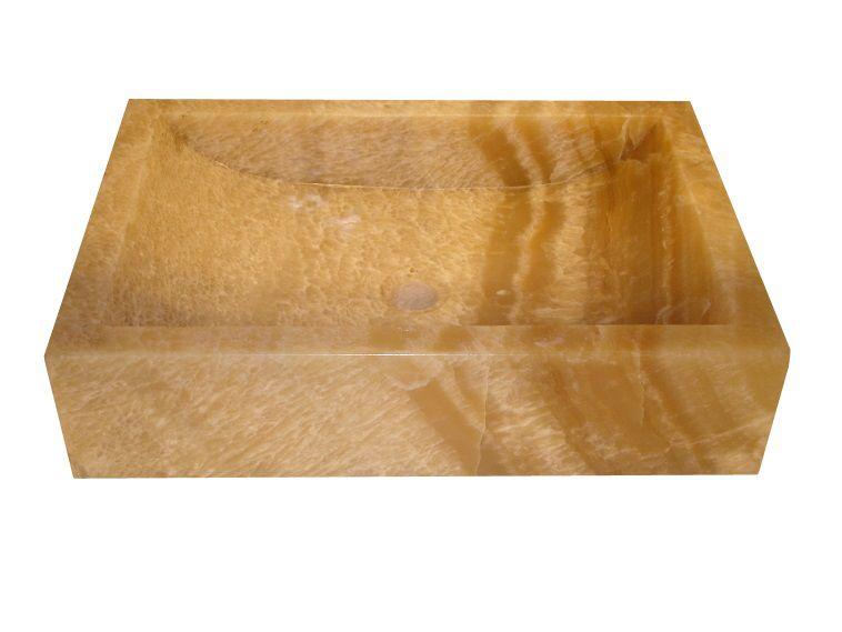 Umývadlo z prírodného kameňa ornatus 308 Onyx