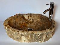 Umývadlo z prírodného kameňa SINK FOSSIL- malé