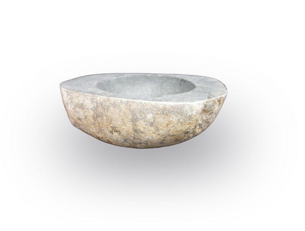Umývadlo z prírodného riečneho kameňa The lavabo Slice Avoca