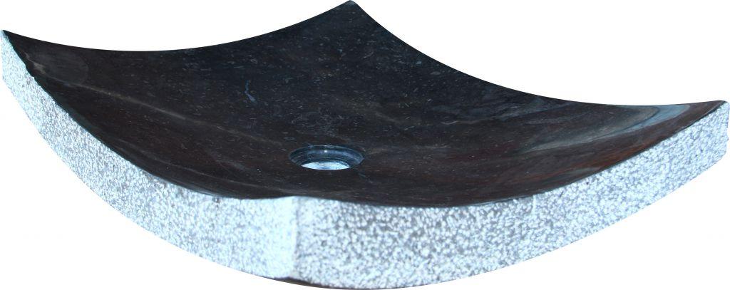 Umývadlo z prírodného kameňa Zen Black
