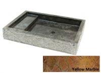 Kamenné umývadlo Kotak Trap Marmo Yellow