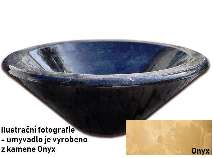 Kamenné umývadlo Fidus Onyx
