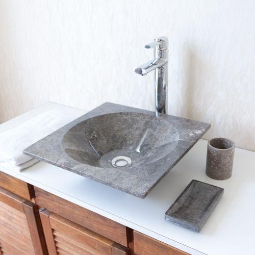 Kamenné umývadlo Aspera Black