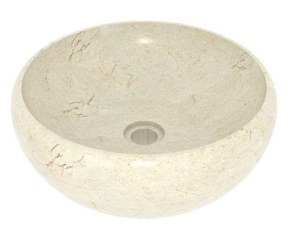 Umývadlo z prírodného kameňa Lenis Cream