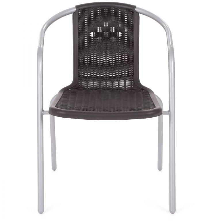 Záhradná stohovateľná stolička Toscana, 54 × 58 × 72 cm