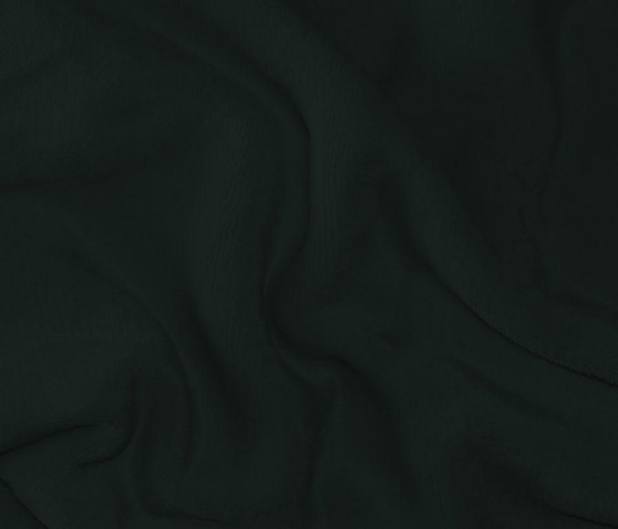 Mikroplyšová plachta 180 x 200 cm - ČIERNA