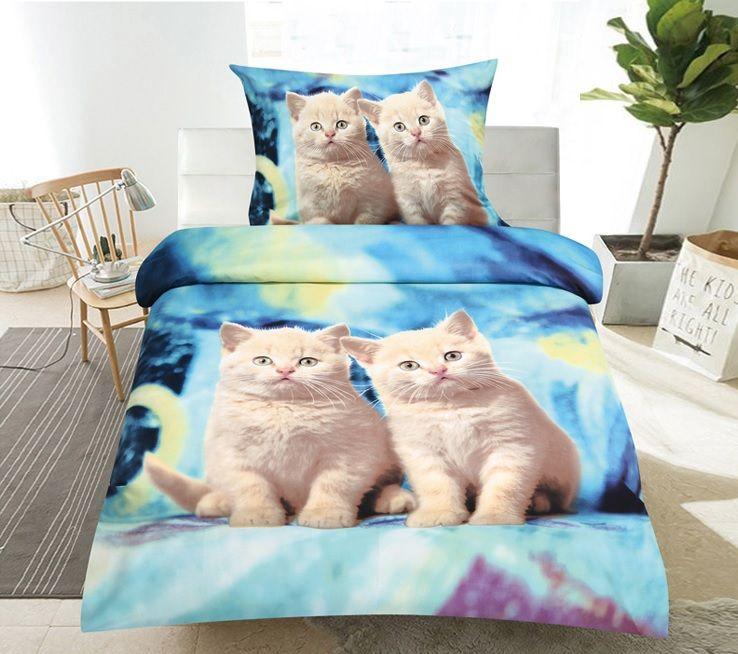 Obliečky 3D CATS