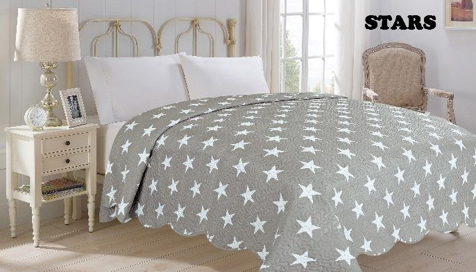 Prehoz na posteľ STARS 220 x 240 cm