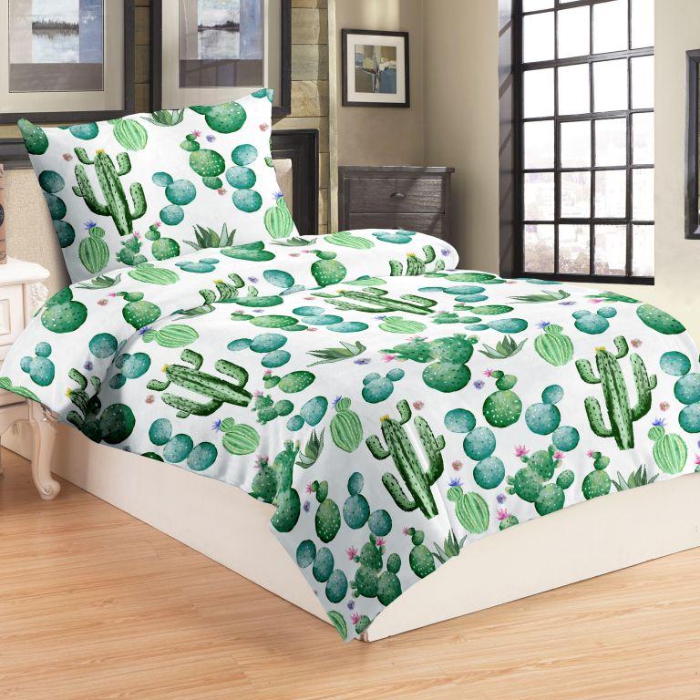Posteľné obliečky MICRO - Cactus