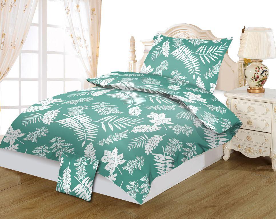 Posteľné obliečky DITA, Palma green