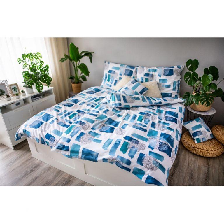 Posteľné obliečky DITA, Abstract blue