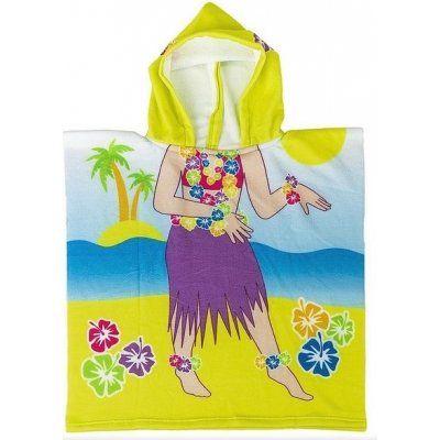 Plážová osuška pončo - tanečnica