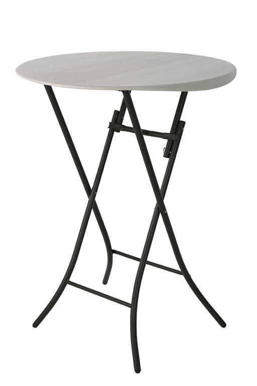 Skladací cateringový párty stolík - 84 x 84 x 110 cm