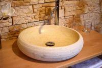 Kamenné umývadlo z mramoru Aidos