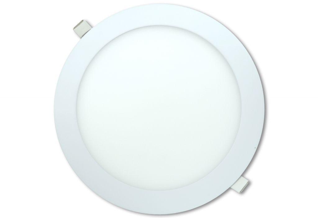 LED stropný panel guľatý 18 W, neutrálna biela