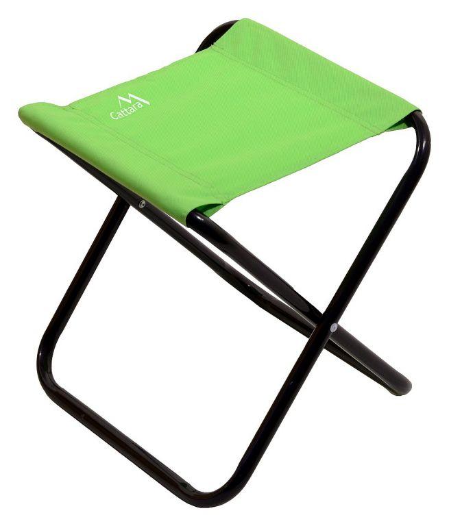 Kempingová skladacia stolička MILANO - zelená