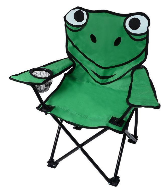 Detská kempingová stolička FROG