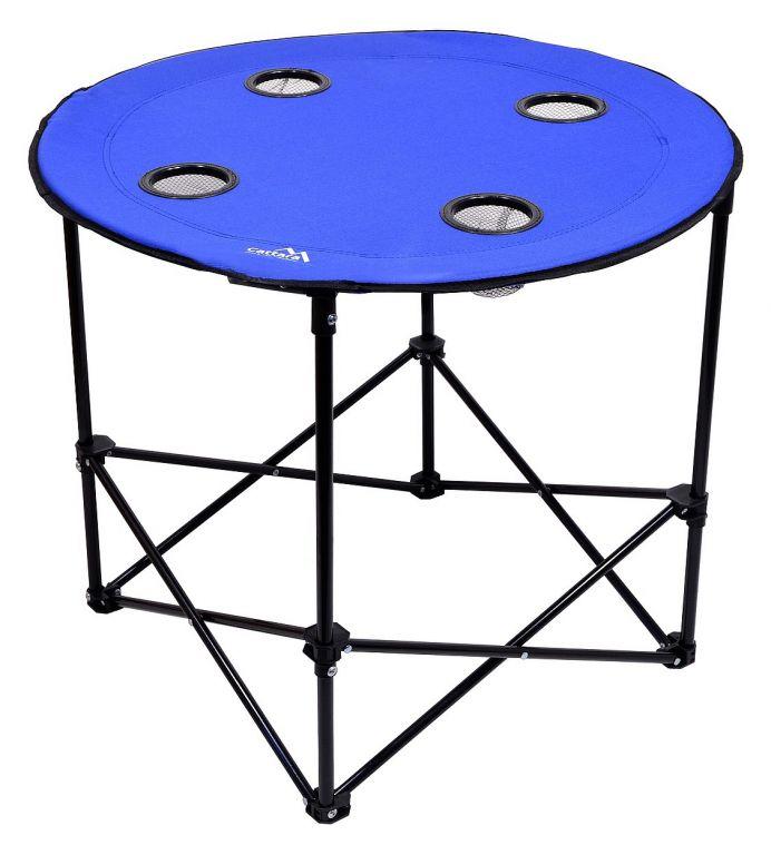 CATTARA Stôl kempingový skladací SPLIT modrý